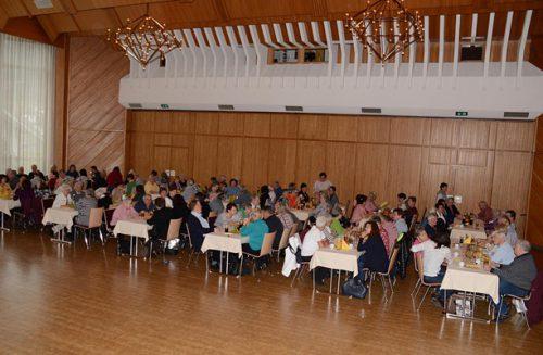 Martinifeier der Nüziger Pensionisten am 12.11.19.Pensionisten Nüziders