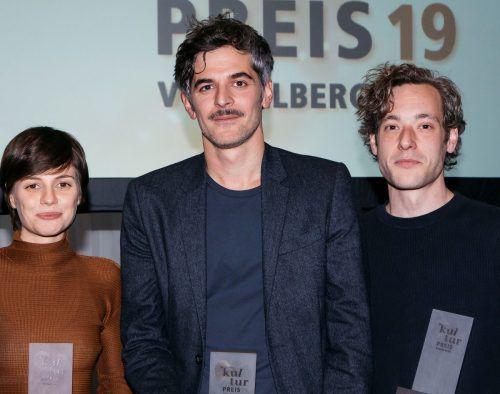 Kulturpreisträger im letzten Jahr waren die bildenden Künstler Melanie Ebenhoch, Drago Persic (Hauptpreis) und Sebastian Koch. Mathis