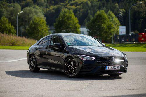 Mit Stil und Style: So dynamisch stellt sich das neue Mercedes CLA Coupé zur Schau und verspricht hohen Erlebniswert.vn/paulitsch