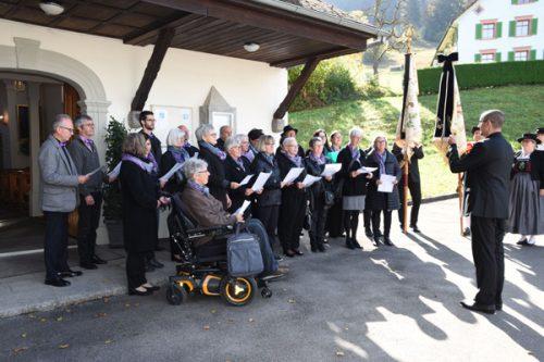 Musikalischer Gottesdienst in der Kapelle Maria Ebene.MFC Frastanz