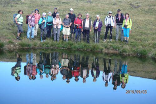 Nicht weniger als 42 Wanderungen wurden in diesem Jahr von Seniorenclub Bludenz durchgeführt. Seniorenclub Bludenz
