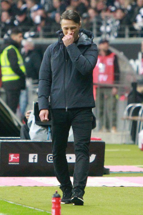 Niko Kovac kostete die 1:5-Pleite in Frankfurt den Job bei den Bayern.Afp