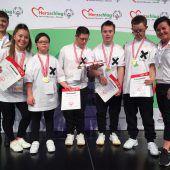 Vergoldeter Auftritt der Special Olympics im Tanzen