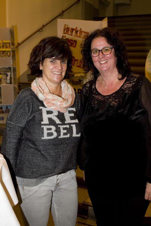 Patinnen Gabi Burtscher (l.) und Petra Ebner.
