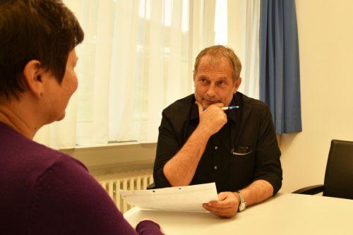 """Pflegedirektor Bernd Scherzer: """"Unsere oberste Maxime muss ein respektvoller und wertschätzender Umgang mit den Mitarbeitenden sein.""""  maria ebene"""