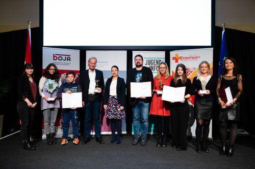 Philipp Rümmele und Martin Hagen holten in Wien den Jugendpreis für die OJAD ab.