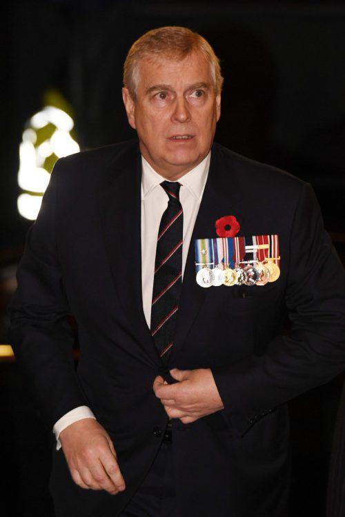Prinz Andrew wurde von Anwältinnen zu Aussagen im Epstein-Fall aufgefordert. AFP