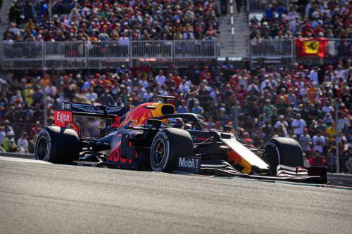 Red Bull Racing hat weiter Honda-Motoren an Bord.ap