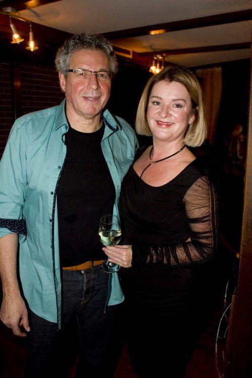 Renata Plesa und Jörg Mäser feierten mit.