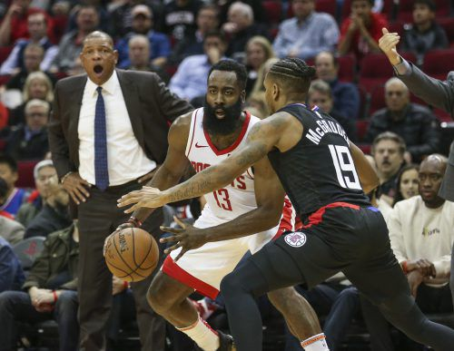 Rockets-Superstar James Harden glänzte mit 47 Punkten gegen die Clippers. AFP