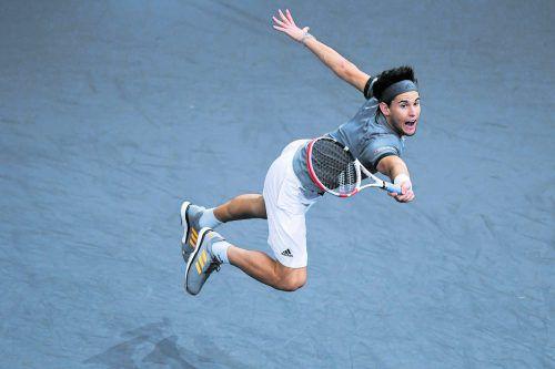 Roger Federer und Novak Djokovic warten in Gruppe B - Dominic Thiem wird beim ATP-Finale in London sein bestes Tennis zeigen müssen.apa