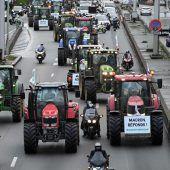 Bauern-Protest in Frankreich