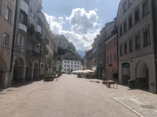 Rund 80 Rückmeldungen zur Gestaltung der Neustadt sind eingegangen. VN/GMS