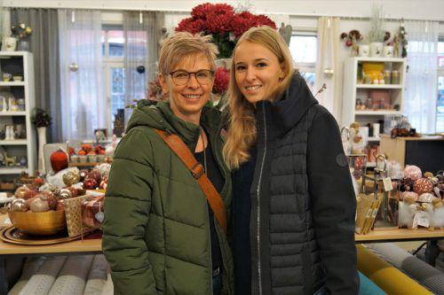 Sabine Greif und Tochter Vanessa waren begeistert von der Ausstellung.