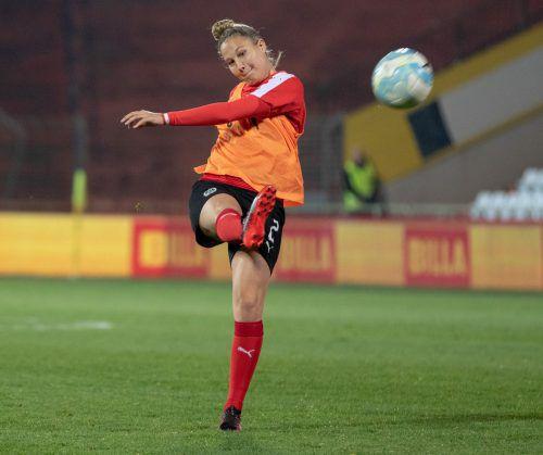 Sabrina Horvat zog am vergangenen Spieltag zum Tor der Runde ab. Hepberger