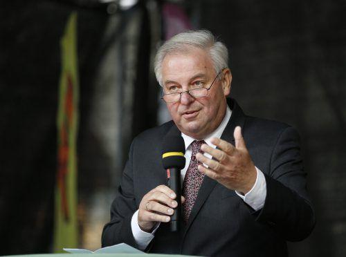 Schützenhöfer will, dass seine ÖVP stärkste Kraft wird. APA