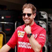 Baby bremste Vettel