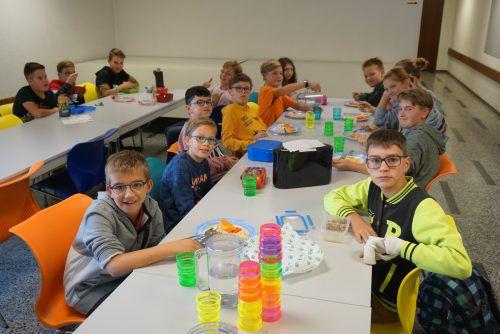 Seit Herbst 2019 genießen die Mittelschüler in Innerbraz die Möglichkeit der Mittagsbetreuung.dob