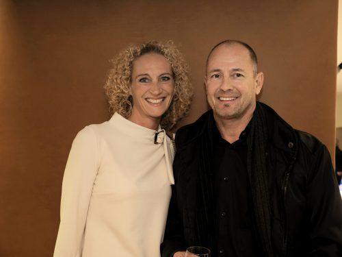 Silvia und Jörg Nachbaur (Natex Group) zeigten sich begeistert.