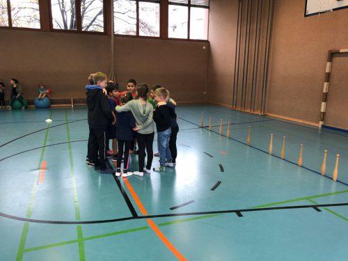 Spiel, Spaß und Bewegung standen in den Herbstferien in der Volksschule Kirchdorf im Mittelpunkt. askö