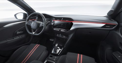 Sportlicher Anspruch,dynamischer Auftritt:der neue Opel Corsa.
