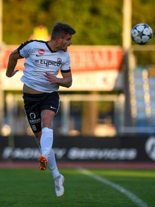 Steven Nenning erzielte zuhause gegen Langenegg drei Tore. LERCH
