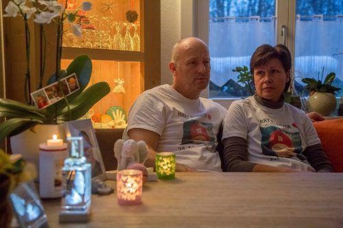 Teresia Perauer hält die Erinnerung an ihren Sohn wach. VN/Paulitsch