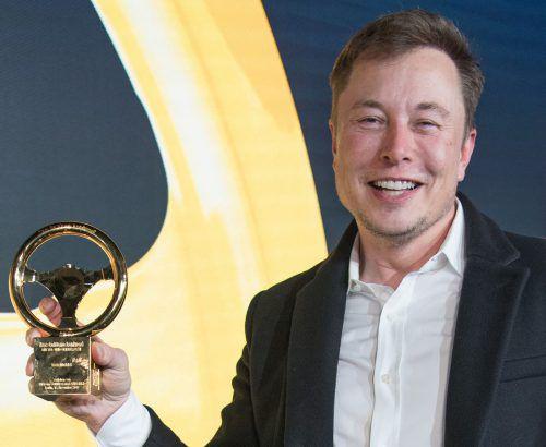 Tesla-Chef Elon Musk gilt als der Superstar der Tech-Szene. Er will mit seiner Raketenfirma SpaceX das Weltall zum Ziel für Touristen machen. AFP