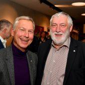 <p>Tourismusdirektor Hermann Fercher und Ex-EU-Kommissar Franz Fischler.</p>