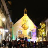 Lebensfrohe Totentrauer in Feldkircher Innenstadt