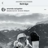 Amanda Salzgeber muss Pause einlegen