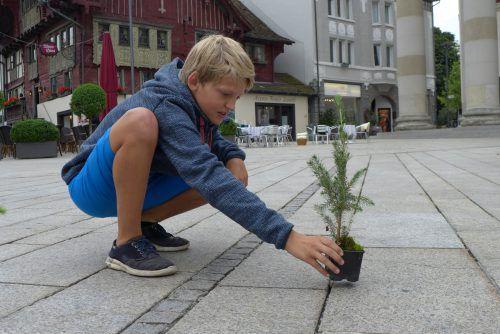 Valentin Dür engagiert sich in seiner Freizeit bei Fridays for Future.