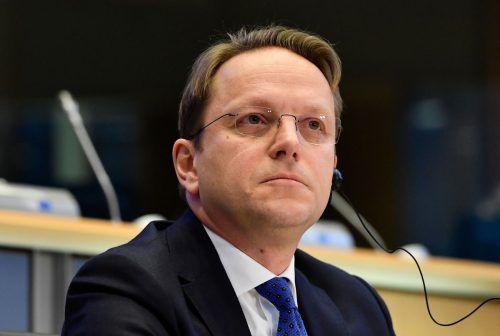 Varhelyi bekommt zunächst kein grünes Licht des EU-Parlaments. AFP