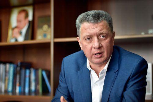 Verbandspräsident Dimitri Schljachtin soll Ermittlungen behindert haben.afp