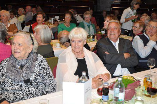 Viele Dornbirner, die 1939 geboren wurden, sind ins Kulturhaus zur Feier gekommen und hatten viel Spaß. Stadt