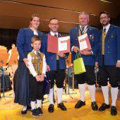 Klauser Musiker zelebrierten den Herbst