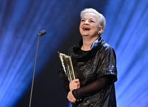 Volkstheater-Mimin Steffi Krautz wurde als beste Schauspielerin geehrt. apa