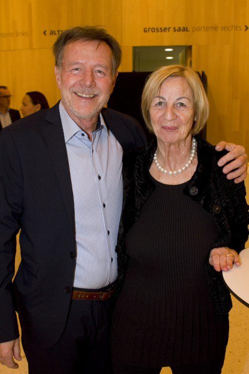 Walter und Marie-Luise Weirather genossen das Konzerterlebnis.
