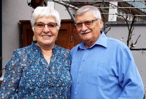 """""""Wenn man nach so vielen Jahren noch miteinander lachen kann, ist das eine gute Ehe"""", sind Ana und Otto Kotzbek überzeugt. Karin Lässer"""