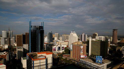 Wer erste Schritte auf den ostafrikanischen Markt machen will, ist in der Boomtown Nairobi (Bild: Businessdistrict) am richtigen Platz.Reuters