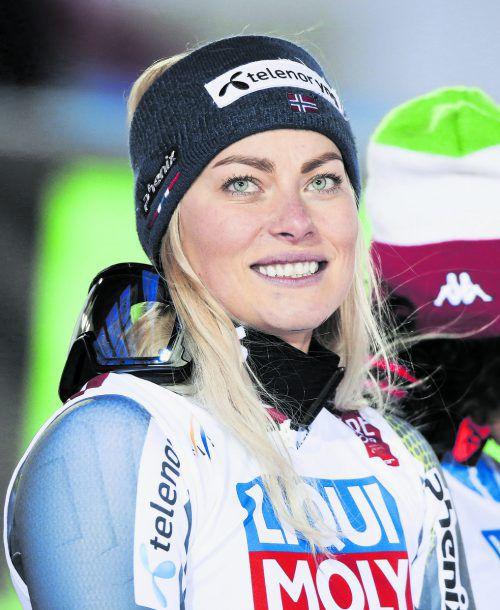 Wieder mit einer Verletzung out: Ragnhild Mowinckel.gepa