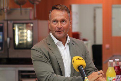 Will Bregenz in die 2. Liga führen: SW-Obmann Thomas Fricke. Rauch