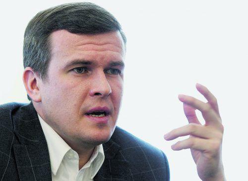 Witold Banka will mehr Geld für den Kampf gegen das Doping.ap