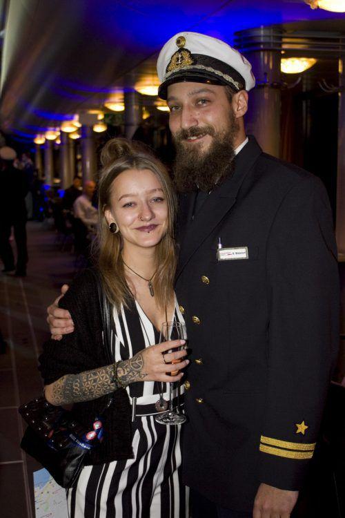 Zu zweit macht es mehr Spaß: Nicole Springer und Raphael Watzdorf.
