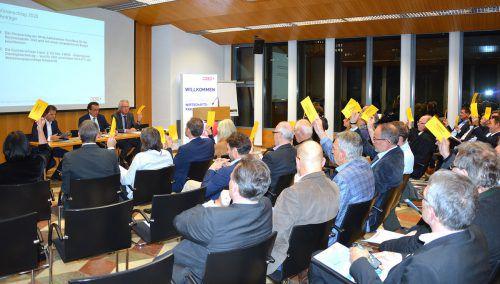 Zum letzten Mal vor der Wirtschaftskammerwahl im Frühjahr 2020 trat das Wirtschaftsparlament in Feldkirch zusammen. WKV