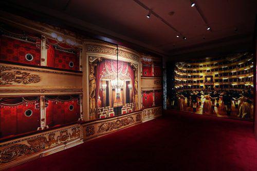 Zumtobel setzt Kunstschätze der Scala neu in Szene. ZG/Brescia-Amisano