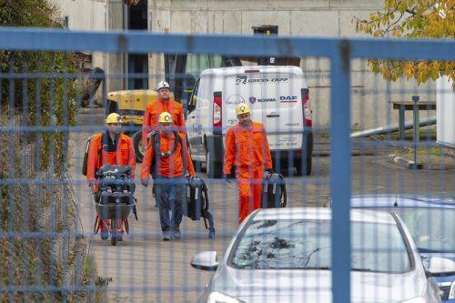 Zwei Bergleute erlitten bei dem Unglück Verletzungen. Nach Stunden wurden die eingeschlossenen Kumpel gerettet. AP