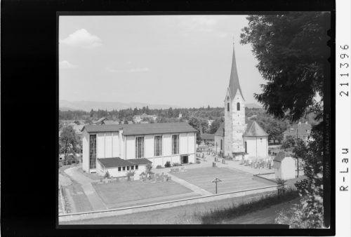 1957 erfolgte der Spatenstich für die neue Kirche.