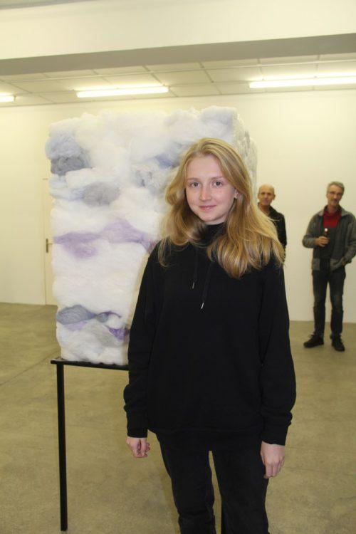 Alle Künstler waren persönlich vor Ort; hier Alysa Omelyantseva.