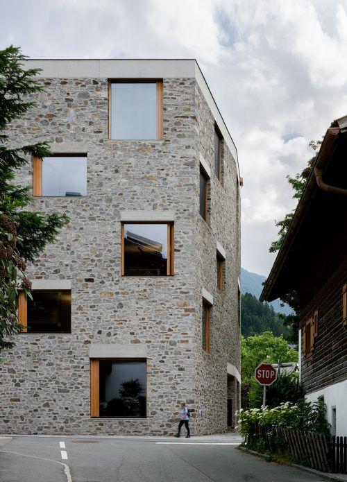 Alpin-Sportzentrum der Bernardo Bader Architekten. jesus granada